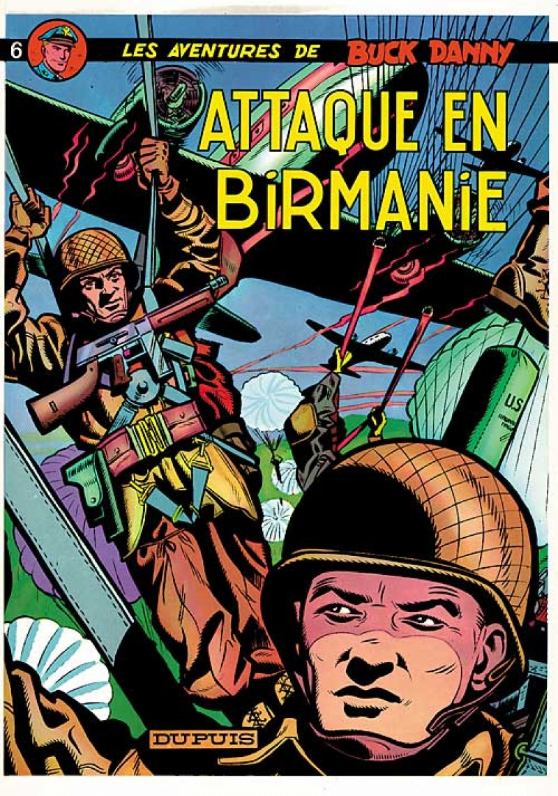 Buck Danny - tome 6 - Attaque en Birmanie