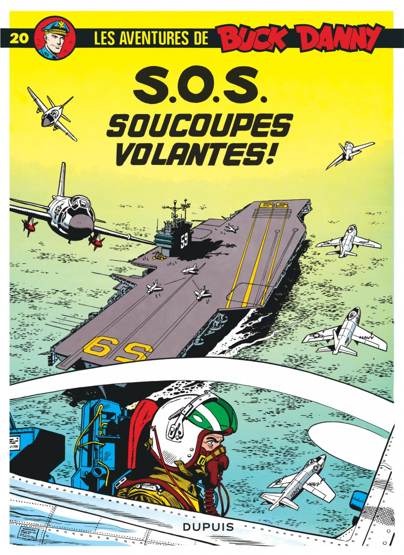Buck Danny - tome 20 - S.O.S. Soucoupes volantes
