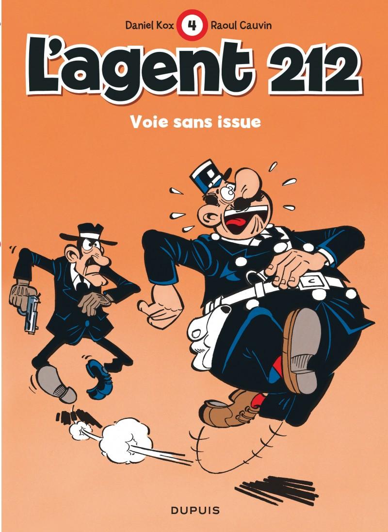 L'agent 212 - tome 4 - Voie sans issue