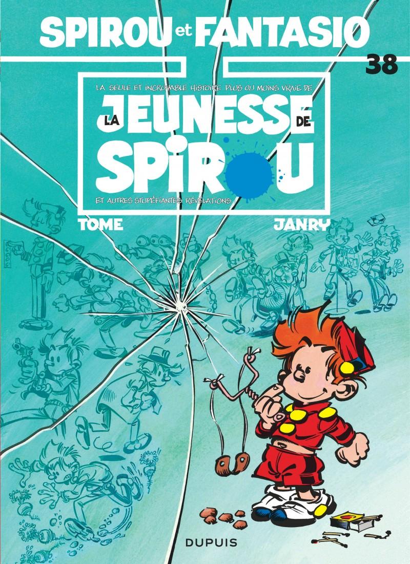 Spirou et Fantasio - tome 38 - La Jeunesse de Spirou