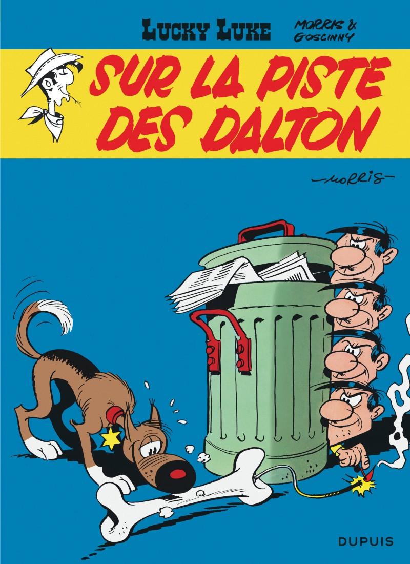 Lucky Luke - tome 17 - Sur la piste des Dalton