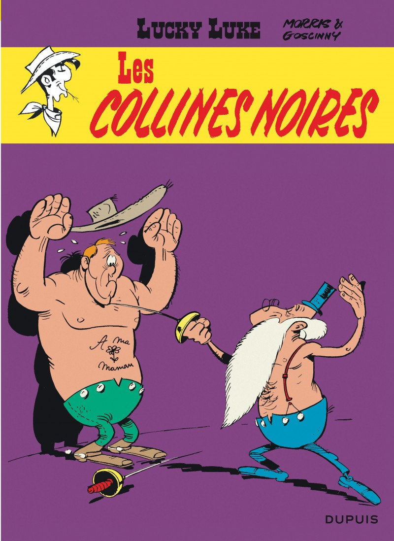 Lucky Luke - tome 21 - Les Collines noires