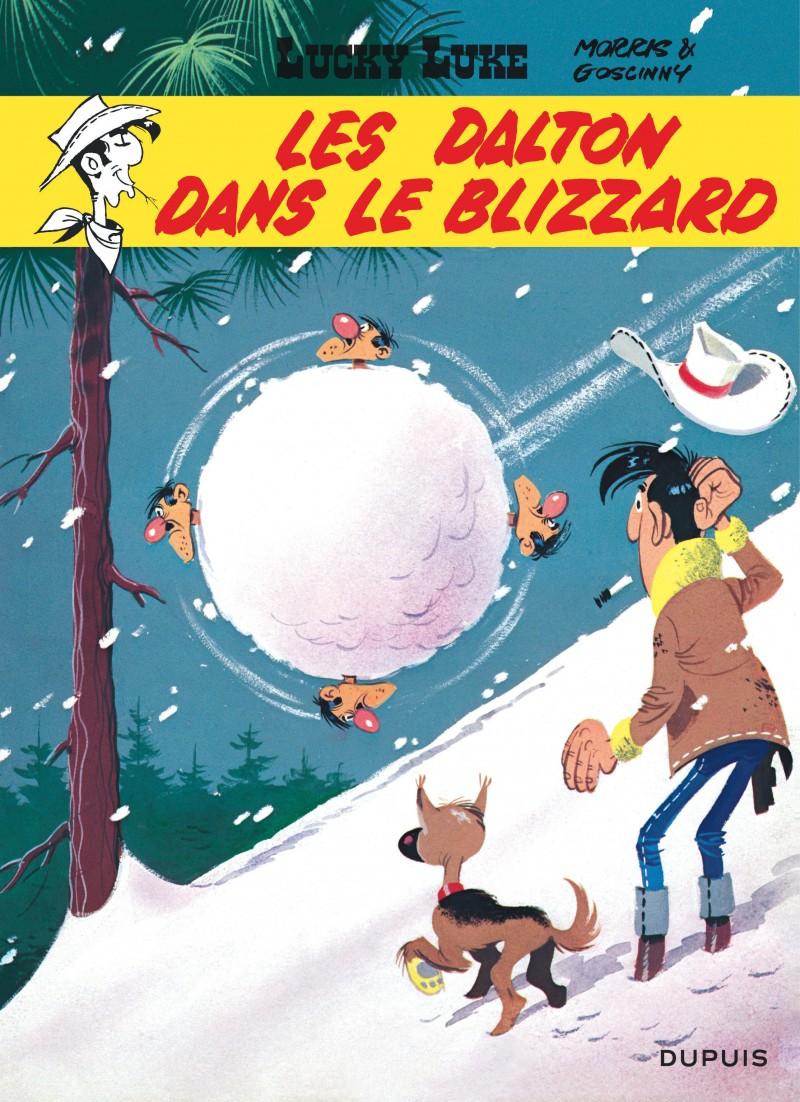 Les Dalton Dans Le Blizzard Tome 22 De La Serie De Bande Dessinee