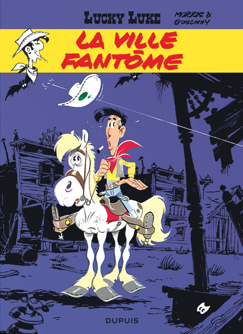 Lucky Luke - tome 25 - La Ville fantôme