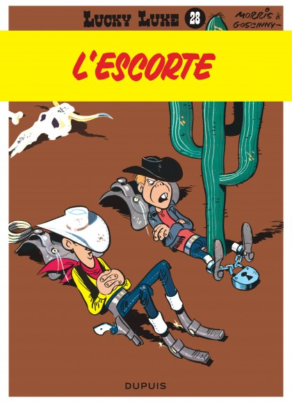 Lucky Luke - L'Escorte