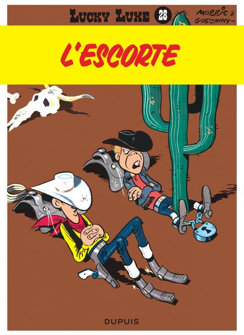 Lucky Luke - tome 28 - L'Escorte