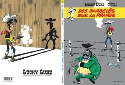 Lucky Luke - Des barbelés sur la prairie