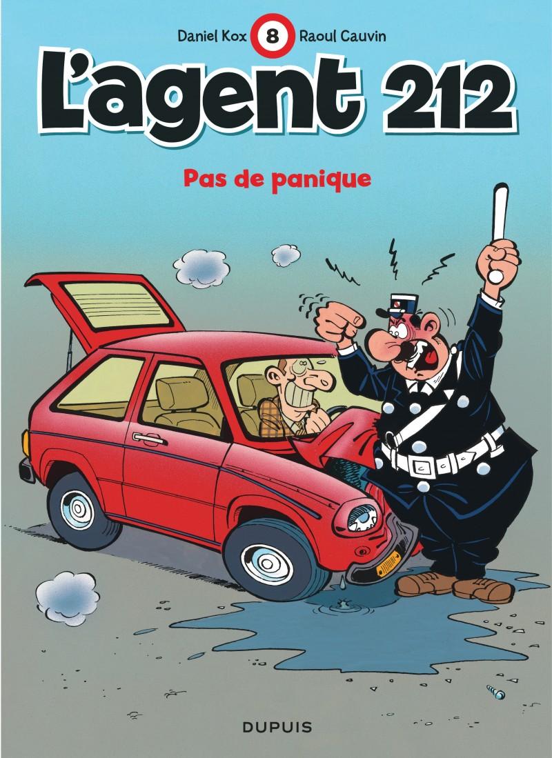L'agent 212 - tome 8 - Pas de panique