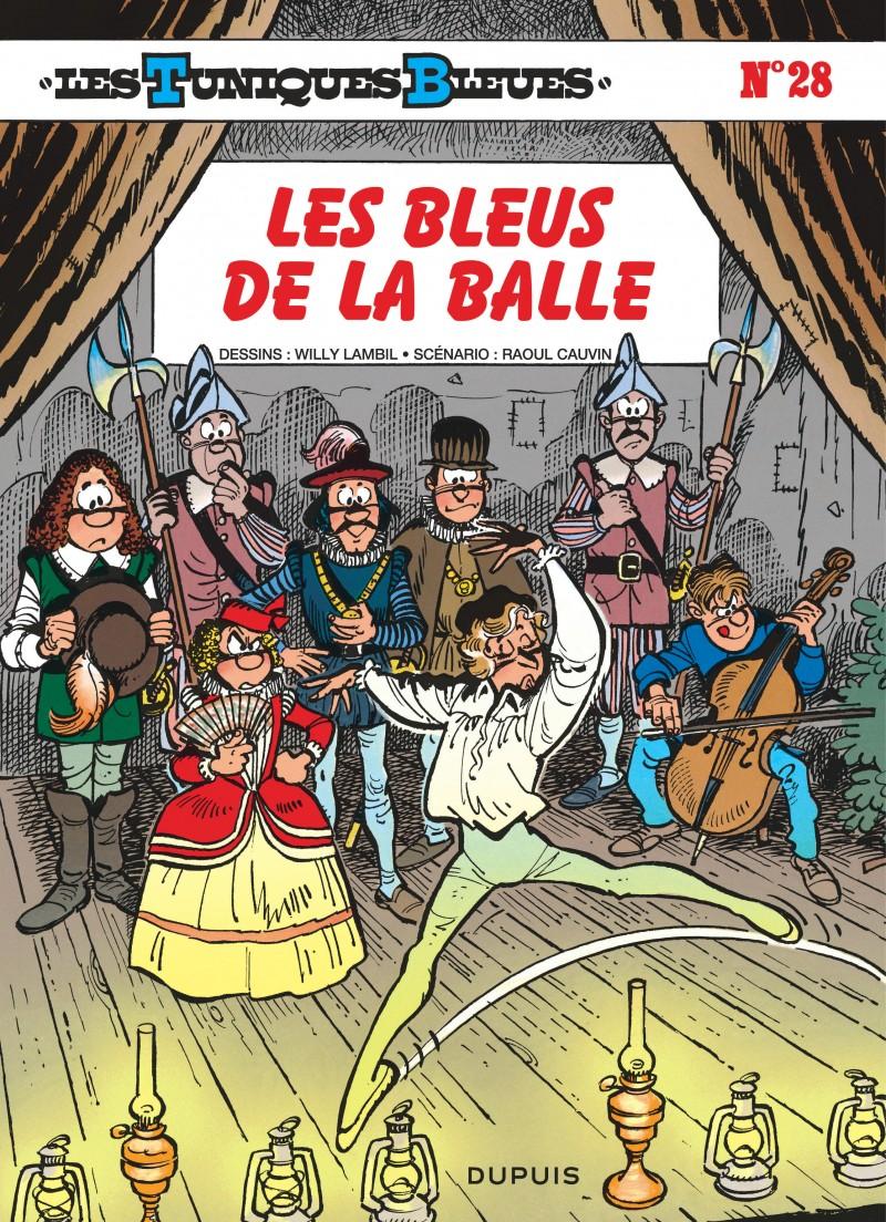 Les Tuniques Bleues - tome 28 - Les Bleus de la balle