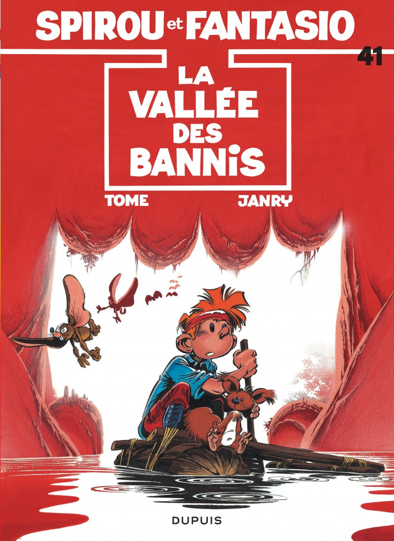 Spirou and Fantasio - tome 41 - La Vallée des bannis