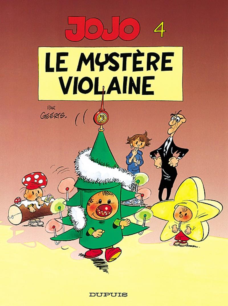 Jojo - tome 4 - Le Mystère Violaine