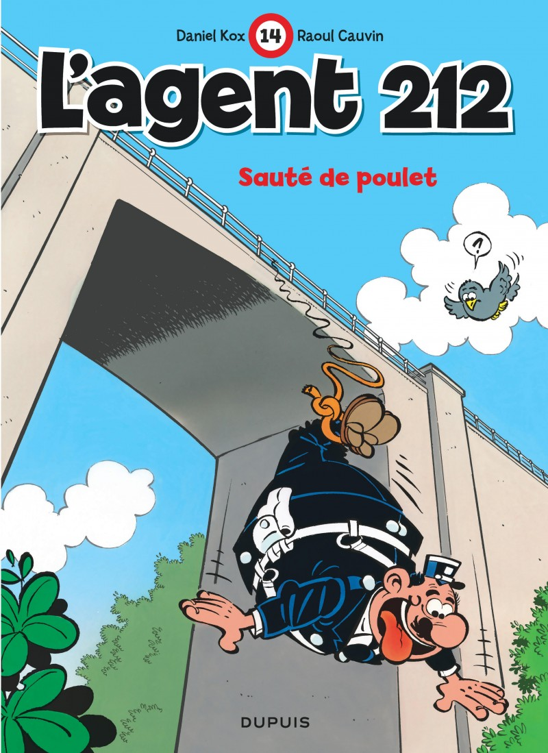 L'agent 212 - tome 14 - Sauté de poulet