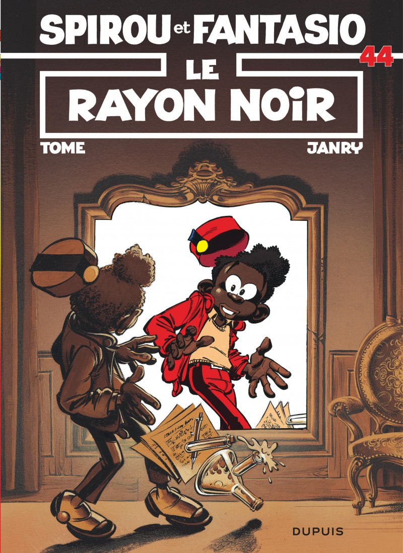 Spirou and Fantasio - tome 44 - Le Rayon noir