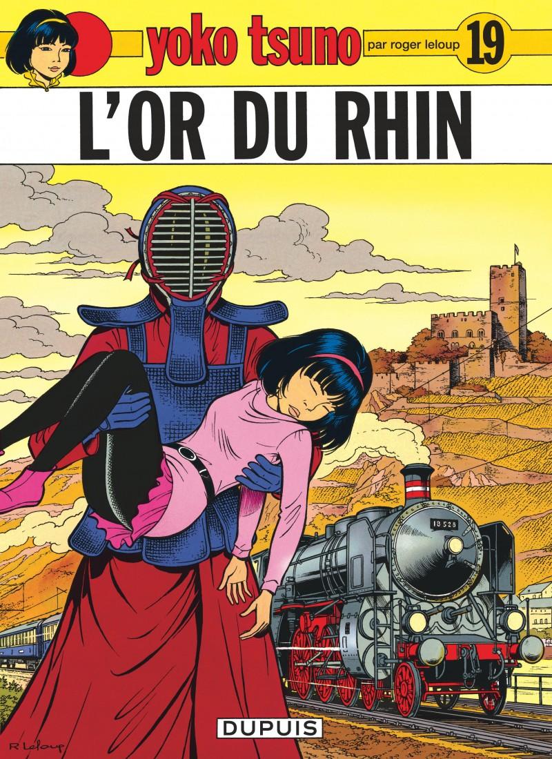 Yoko Tsuno - tome 19 - L'Or du Rhin