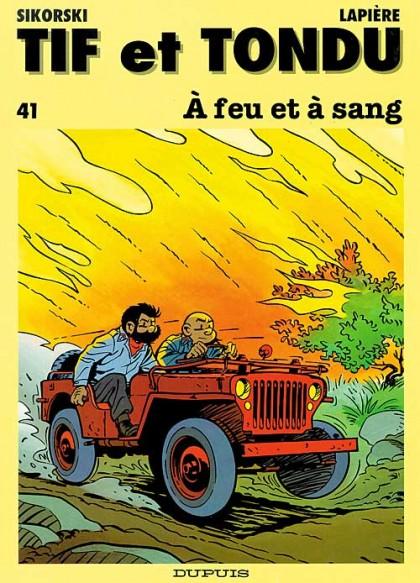 Tif and Tondu - À feu et à sang