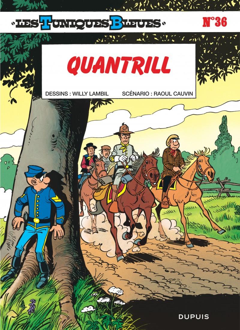 Les Tuniques Bleues - tome 36 - Quantrill