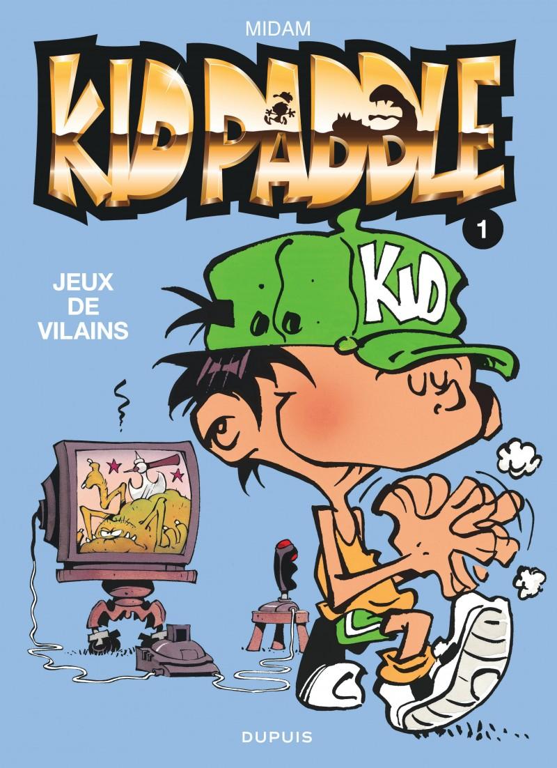 Kid Paddle - tome 1 - Jeux de vilains