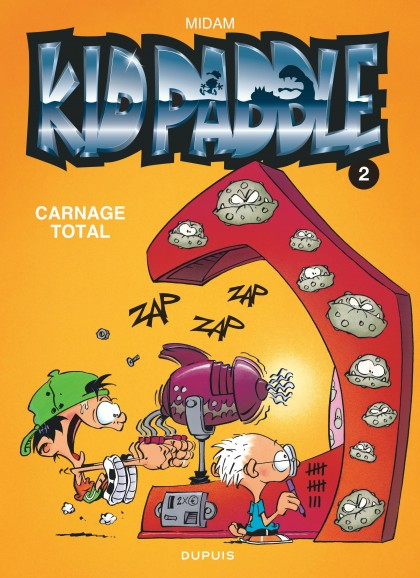 Kid Paddle - Carnage total