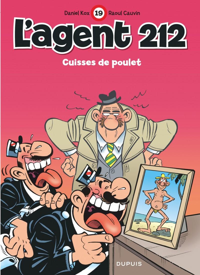 L'agent 212 - tome 19 - Cuisses de poulet