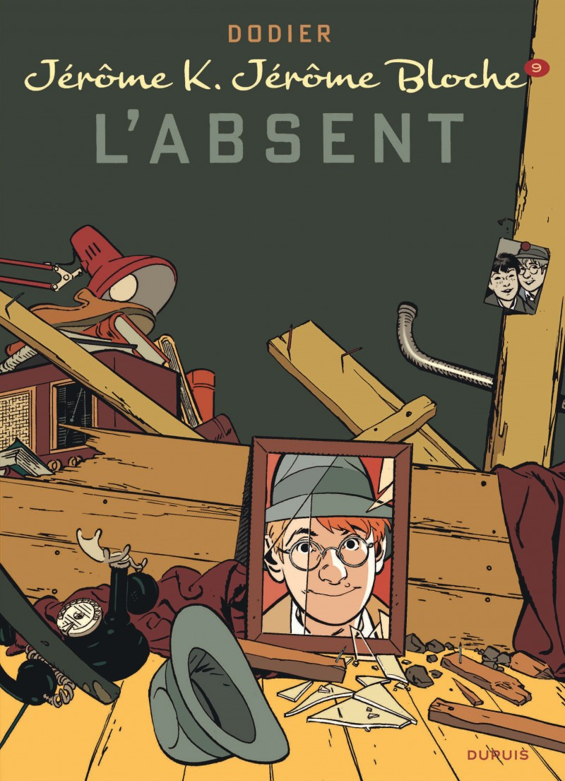 Jérôme K. Jérôme Bloche - tome 9 - L'Absent