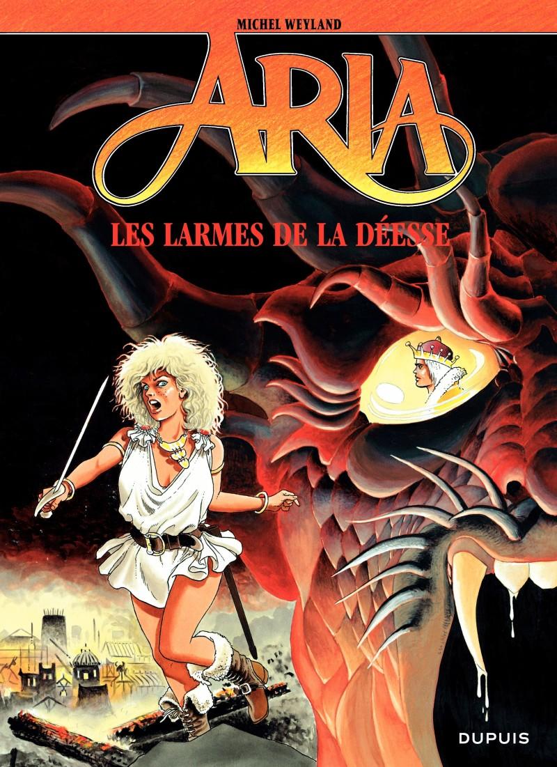 Aria - tome 5 - Les Larmes de la déesse