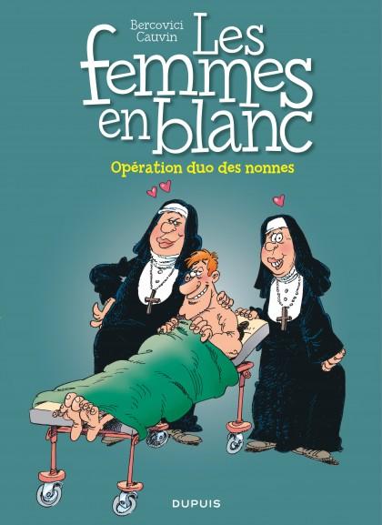 Les femmes en blanc - Opération duo des nonnes