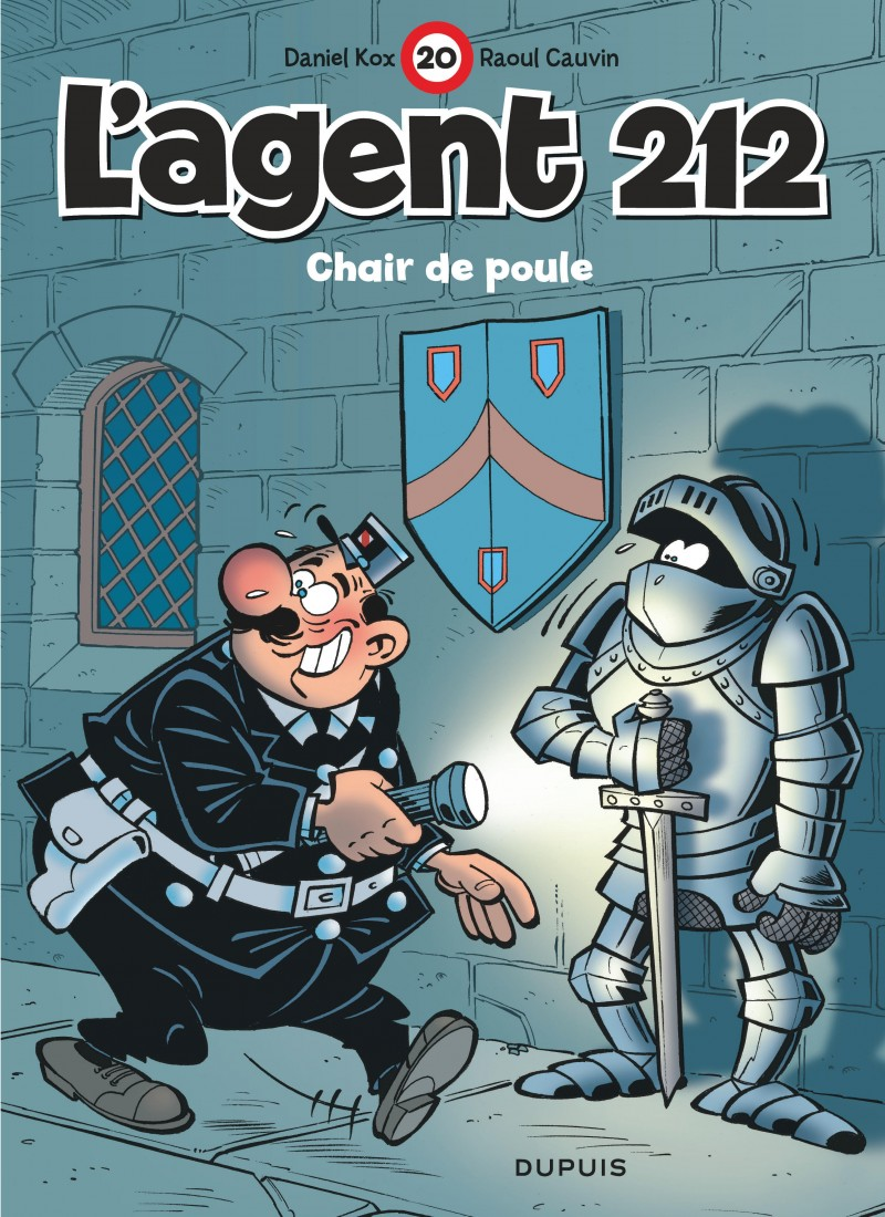 L'agent 212 - tome 20 - Chair de poule