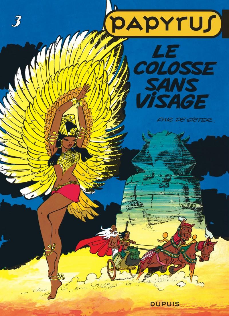 Papyrus - tome 3 - Le Colosse sans visage