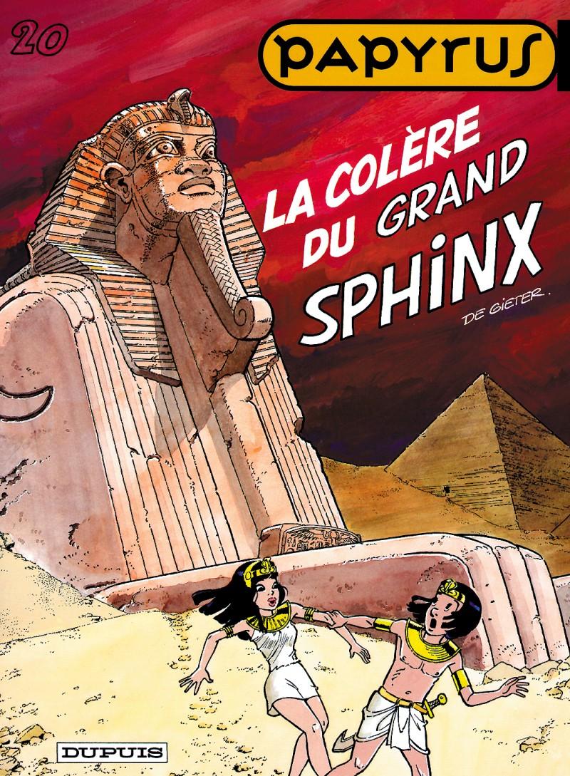 Papyrus - tome 20 - La Colère du grand sphinx
