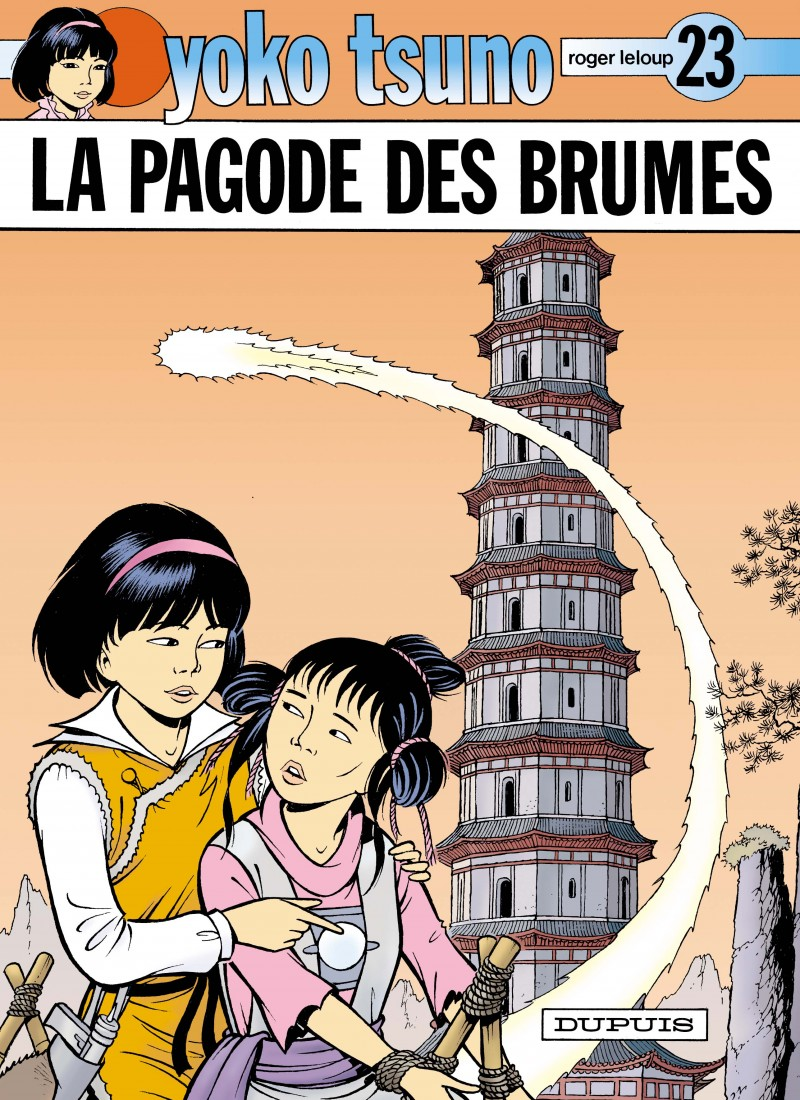 Yoko Tsuno - tome 23 - La Pagode des brumes