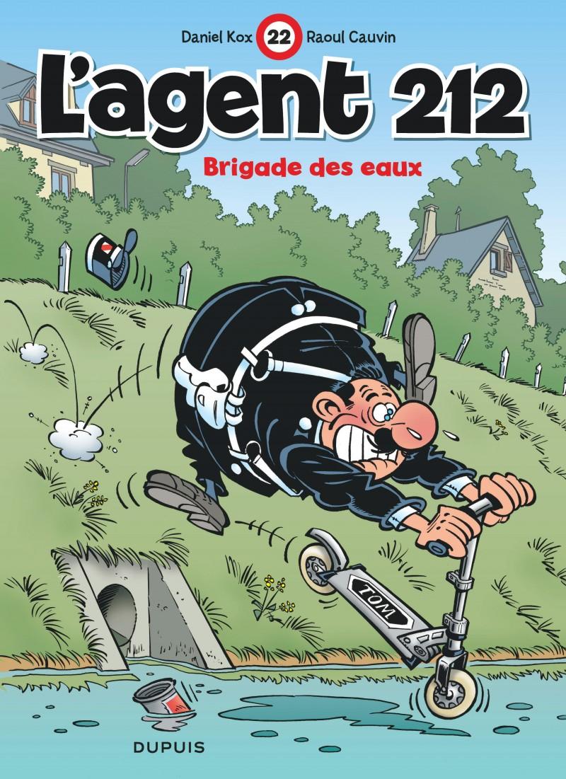 L'agent 212 - tome 22 - Brigade des eaux