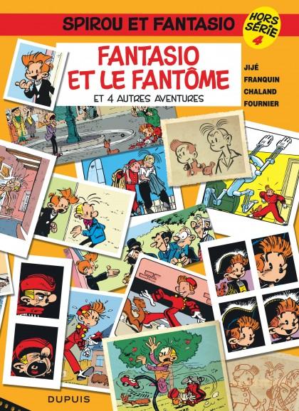 Spirou et Fantasio - Hors-série - Fantasio et le fantôme (et 4 autres aventures)