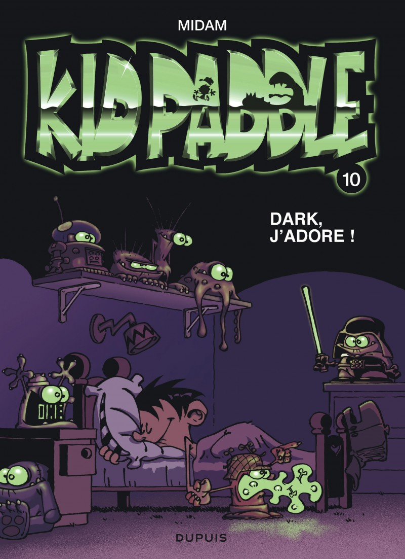 Kid Paddle - tome 10 - Dark, j'adore