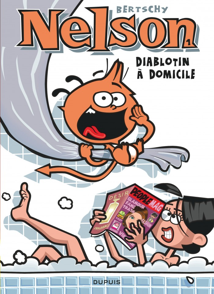 Diablotin A Domicile Tome 1 De La Serie De Bande Dessinee Nelson De Bertschy Editions Dupuis