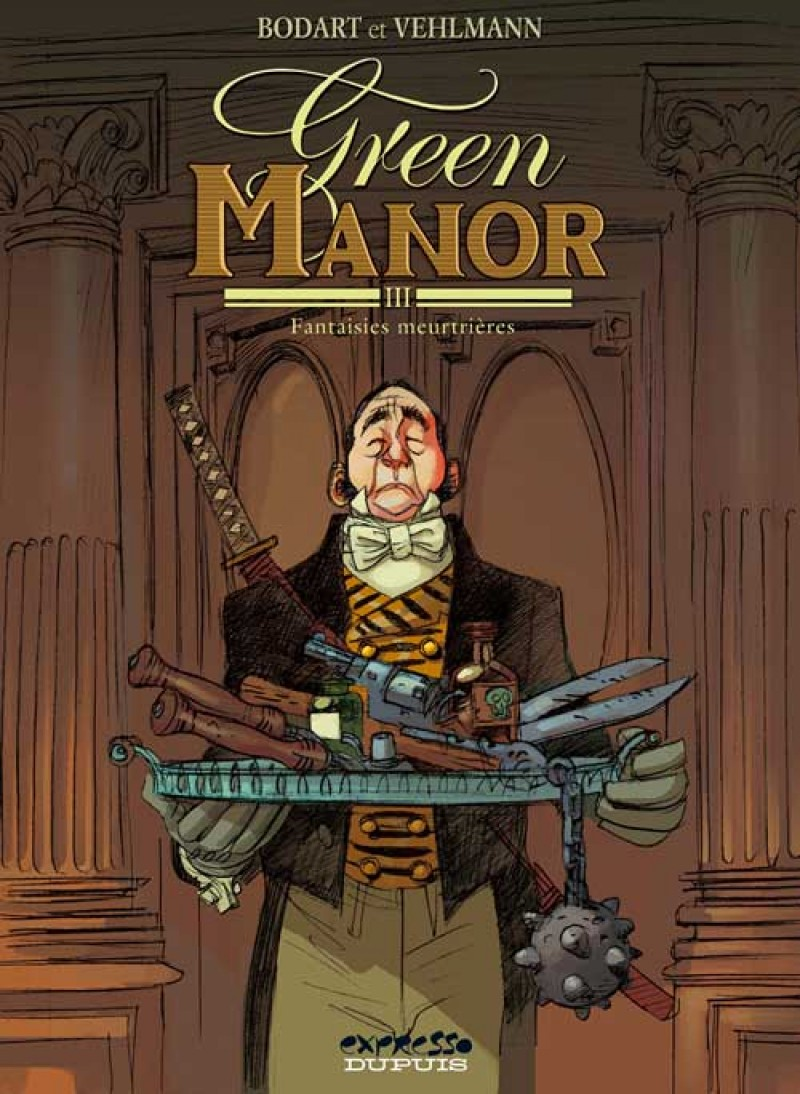 Green Manor - tome 3 - Fantaisies meurtrières