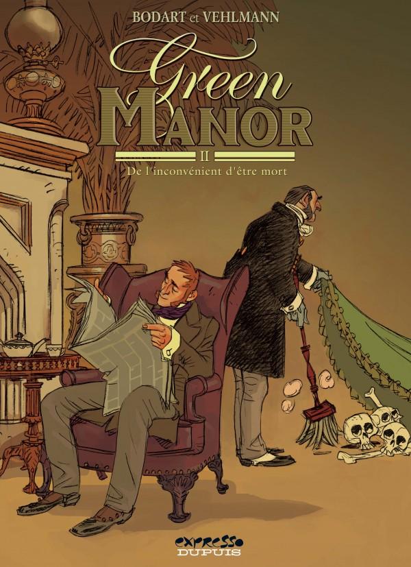 cover-comics-green-manor-tome-2-de-l-8217-inconvnient-d-8217-tre-mort