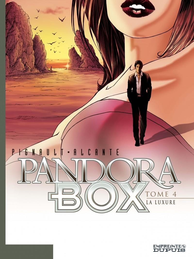 Pandora Box - tome 4 - La Luxure - tome 4/8