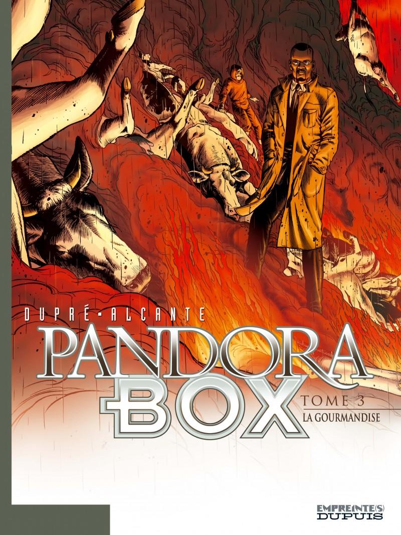 Pandora Box - tome 3 - La Gourmandise - tome 3/8