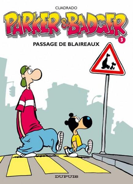 Parker & Badger - Passage de blaireaux