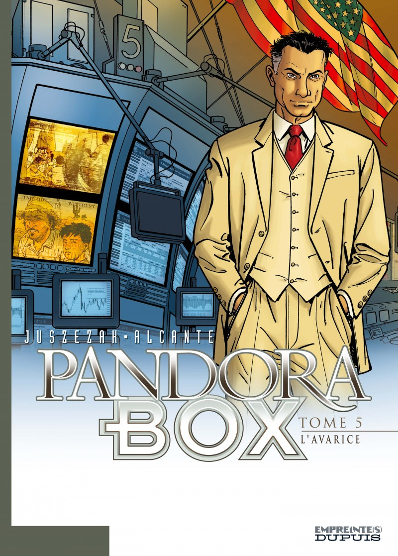 Pandora Box - tome 5 - L'avarice - tome 5/8