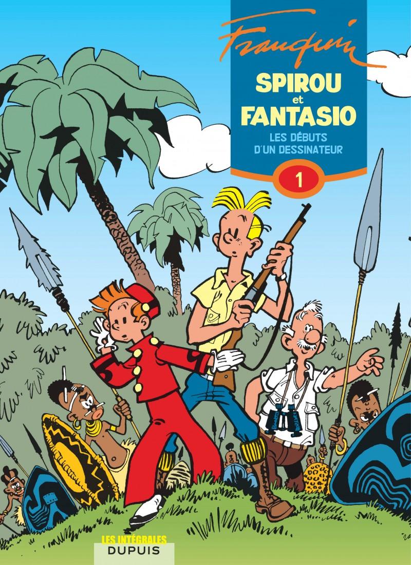 Spirou et Fantasio - L'intégrale - tome 1 - Les débuts d'un dessinateur