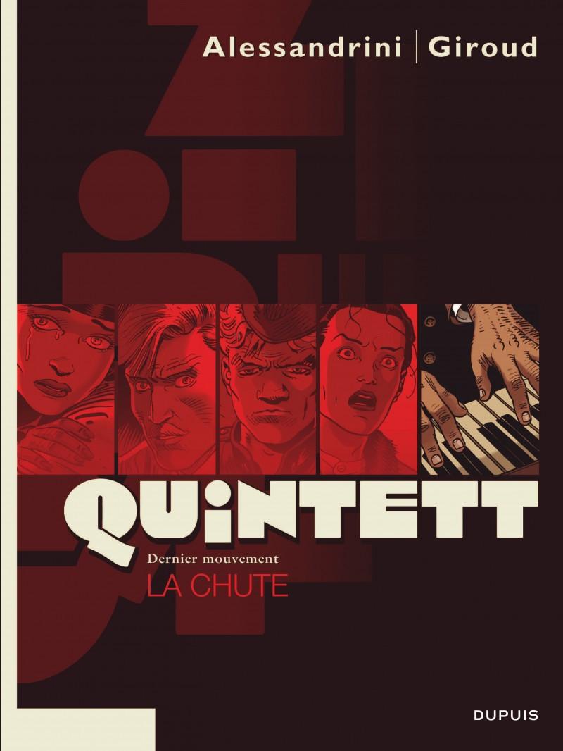 Quintett - tome 5 - La chute - tome 5/5