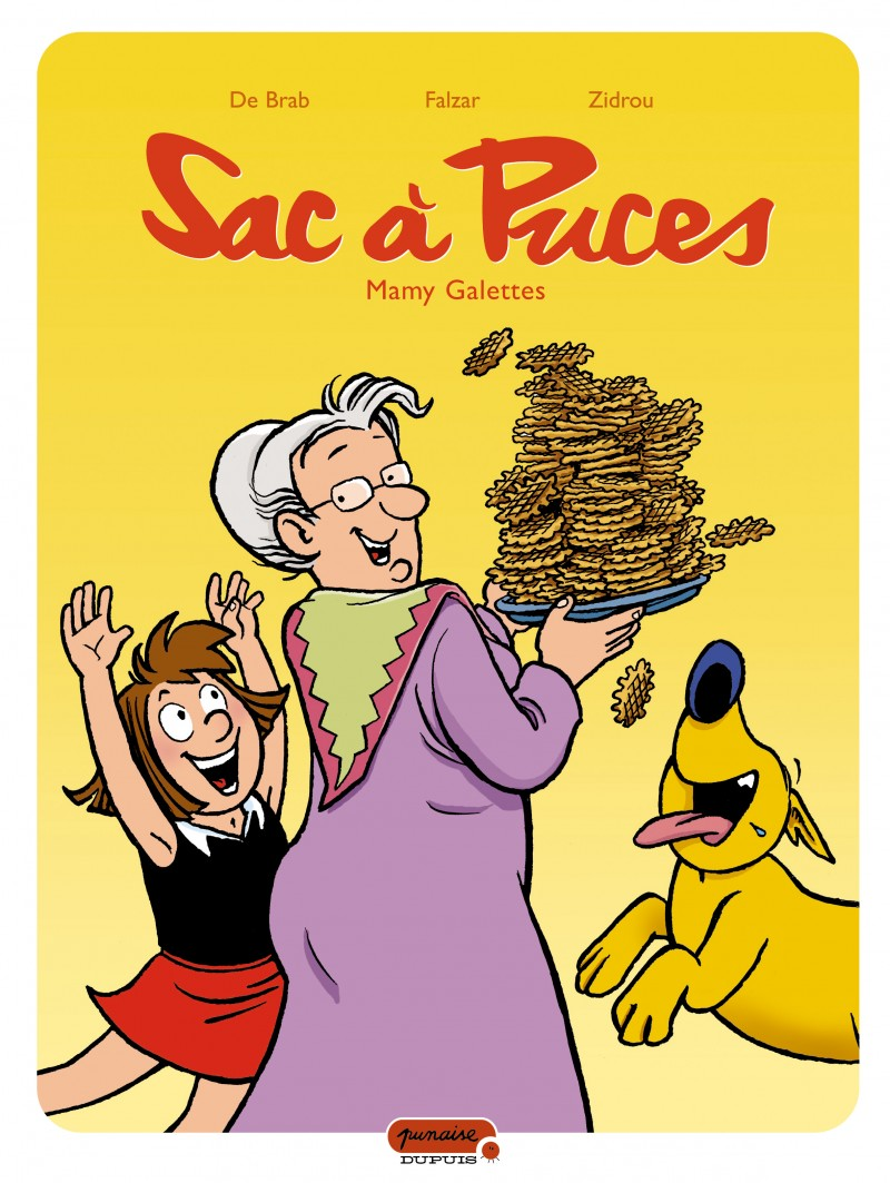 Sac à puces - tome 8 - Mamy galettes