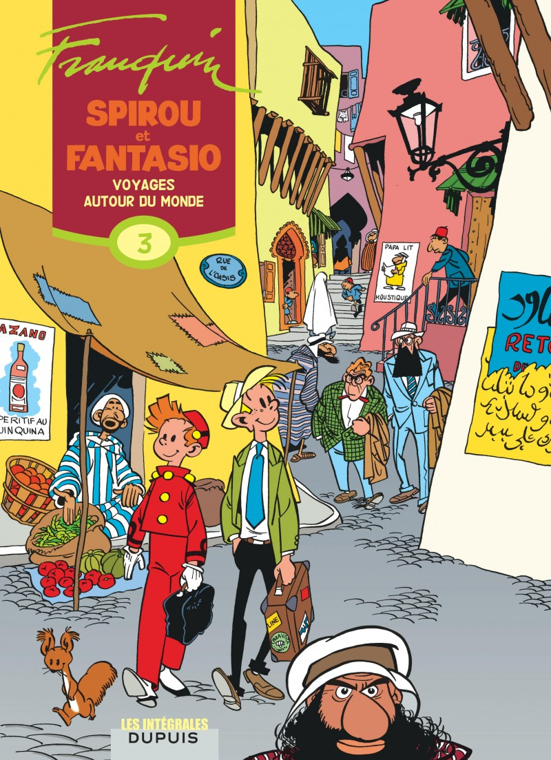 Spirou et Fantasio - L'intégrale - tome 3 - Voyages autour du monde