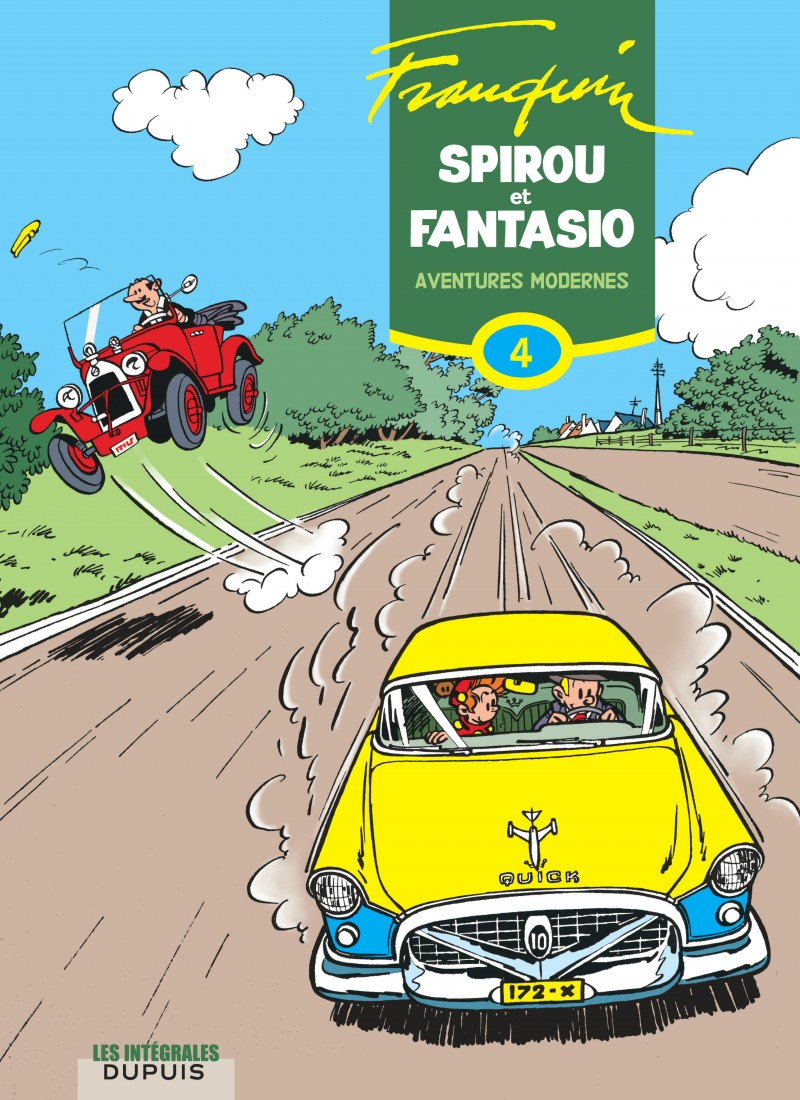 Spirou et Fantasio - L'intégrale - tome 4 - Aventures modernes