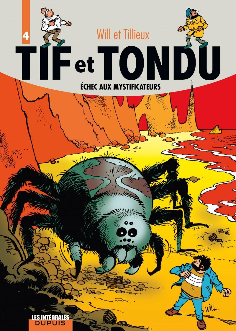 Tif et Tondu - L'intégrale - tome 4 - Échec aux mystificateurs