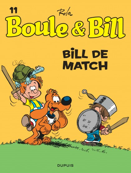 Boule et Bill - Bill de match