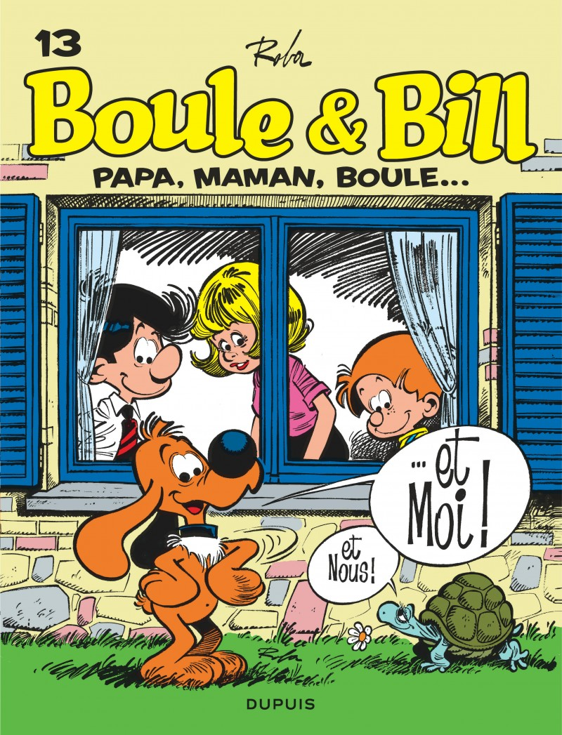 Billy and Buddy - tome 13 - Papa, maman, Boule...