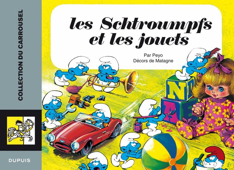 Carrousel - tome 2 - Les Schtroumpfs et les jouets