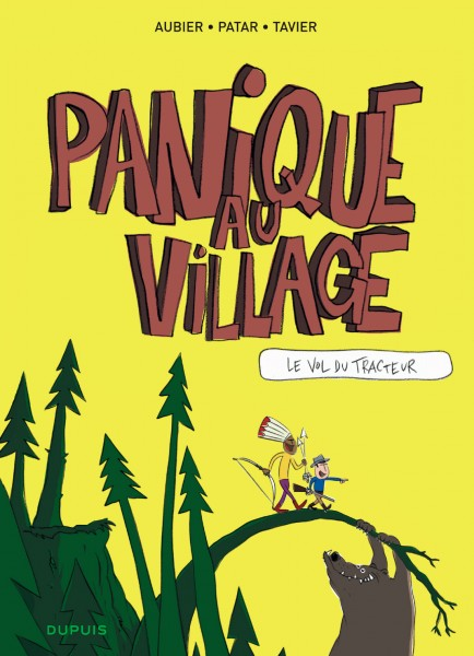 Panique au village - Le vol du tracteur